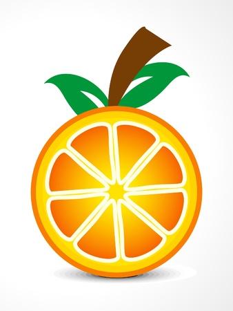 range fruit: abstract orange fruit