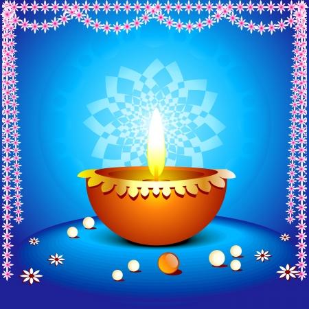 deepak: abstract diwali background