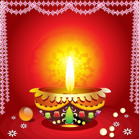 dharma: abstract traditional diwali background