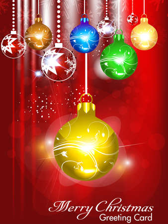 xmas linework: abstract colorful christmas background illustration