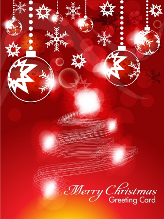 abstract christmas background with sparkle Vector