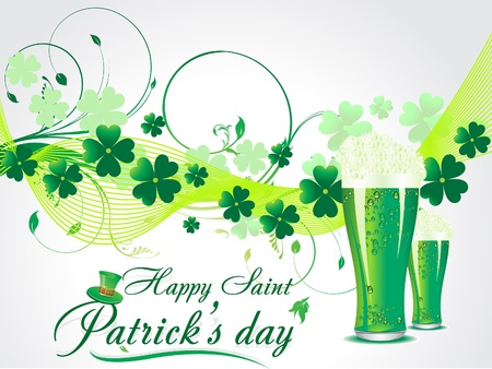 st patric: abstract s t patrick Illustration