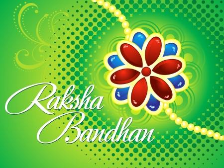 raksha: raksha bandhan background vector illustration