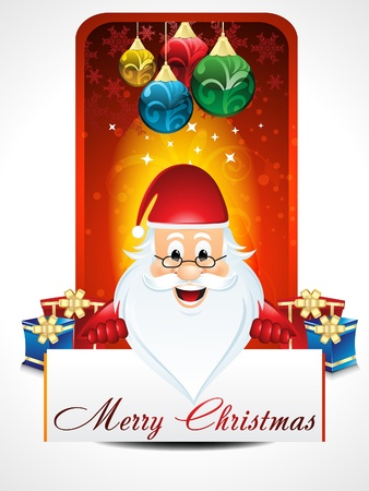 Christmas background with Santa Claus Stock Vector - 21642213