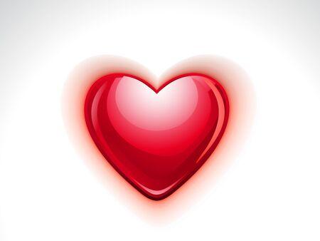 heart clipart: Abstract Heart Icon illustration