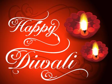 deepak: abstract diwali background vector illustration