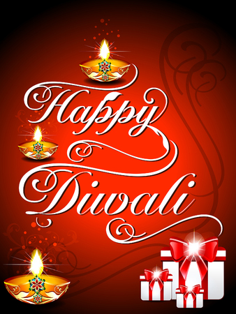dharma: Diwali Background Vector illustration