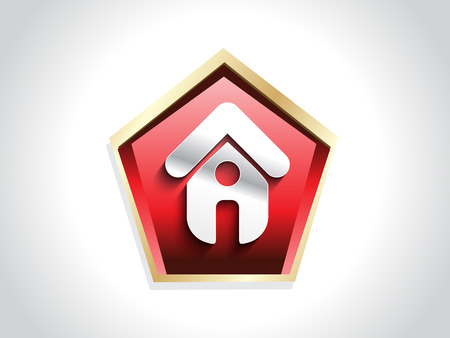home icon button vector illustration Vector