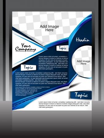 Illustration flyer designer  Stock Vector - 22755945