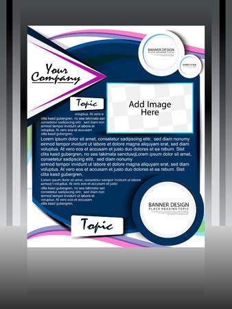 Flyer Design illustration  Stock Vector - 22755934