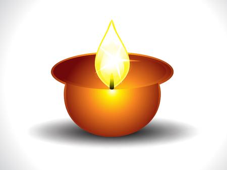 divinit�: Deepak illustration vectorielle de fond
