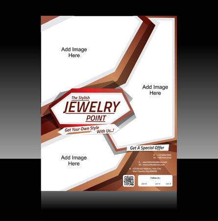 Jewelry Fyer Design Vector illustration Vector Illustration