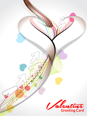 valentine day background Vector illustration