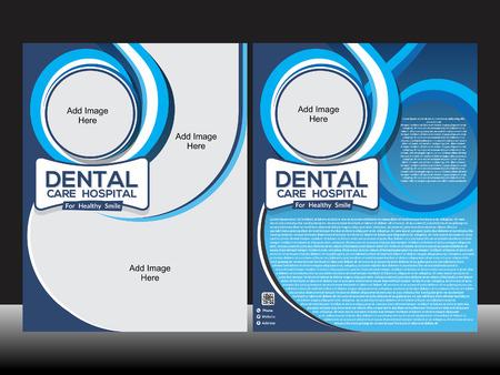 Dental Care Flyer Vector illustration  Vector