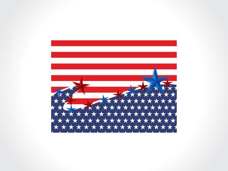 america flag: Vector America Flag Vector illustration
