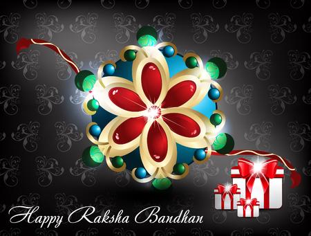 raksha bandhan Background vector illustration Vector