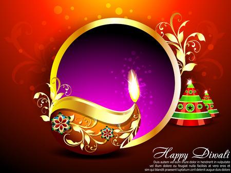 deepak: Abstract Diwali Background vector illustration  Illustration