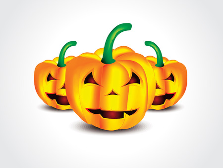 public celebratory event: isolated Halloween Pumpkin vector illustration