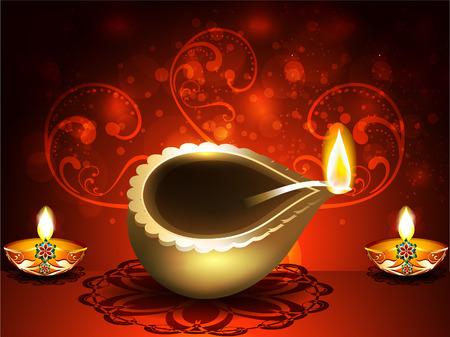 shubh diwali: vector illustration Shubh diwali Background  Illustration