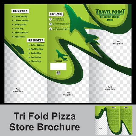 fold travel store brochure