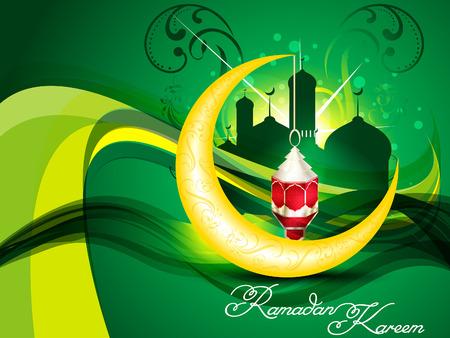 namaaz: ramadan artistic lamp background vector illustration Illustration