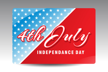independance: american independance day background vector illustration