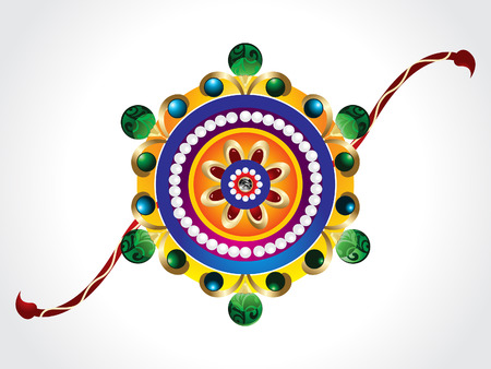 raksha bandhan rakhi background Vector illustration