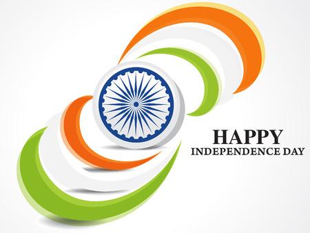 indian independence day background banner vector illustration