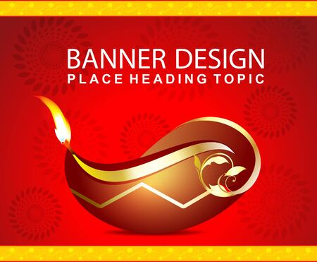 deepak: Diwali Celebration background with deepak