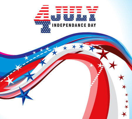 independance: american independance day background illustration