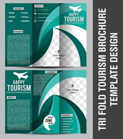 Erfreut Tourismus Broschüre Vorlage Zeitgenössisch - Bilder für das ...