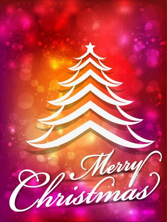 abstract merry christmas celebartion background vector illustration