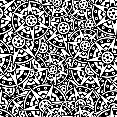 islamic pattern: Background with Islamic Seamless Pattern.