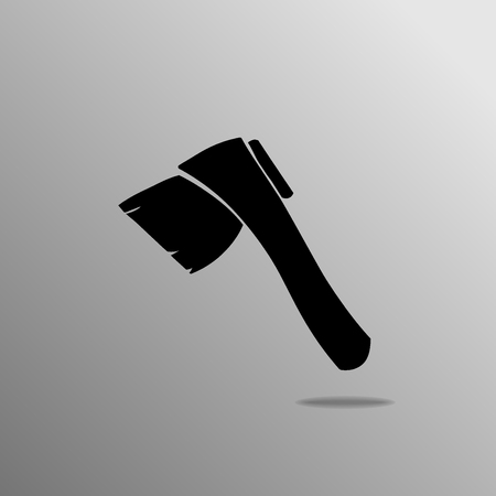 the ax: ax Icon. ax Icon Vector.