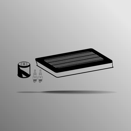 air filter: Maintenance Kit air filter, spark plugs, oil filter