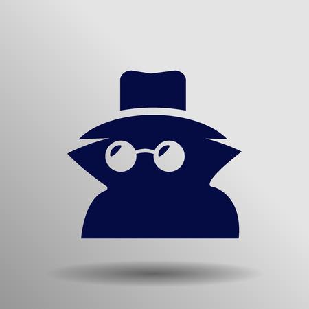 incognito: Incognito icon . Vector illustration