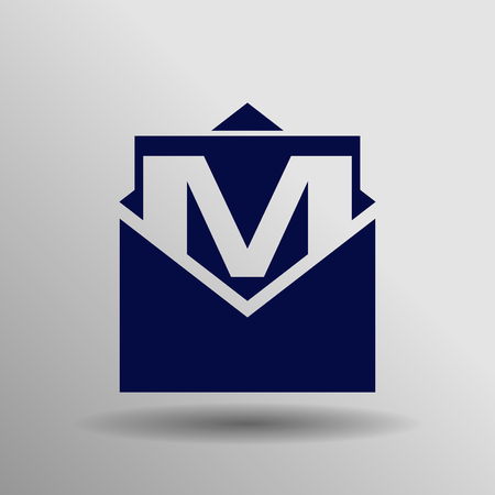 mail icon: Mail icon. Vector Illustration