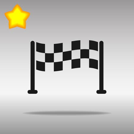 start black Icon button logo symbol concept high quality on the gray background Logo