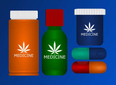 medicine pils drugs bottle mockup
