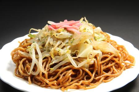 Japanese cuisine, Yakisoba (fried noodles)