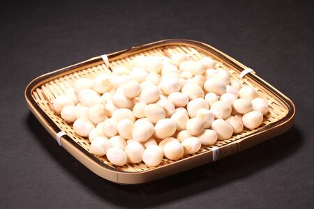 Japanese food Yakifu, dry baked wheat gluten