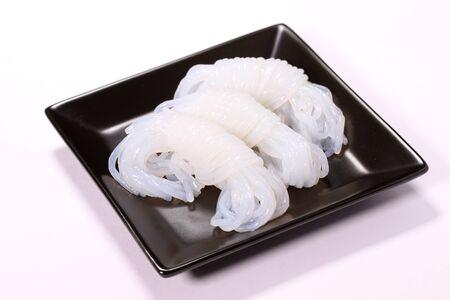 Japanese food Konnyaku,material of Oden (Japanese hot pot) Stock Photo