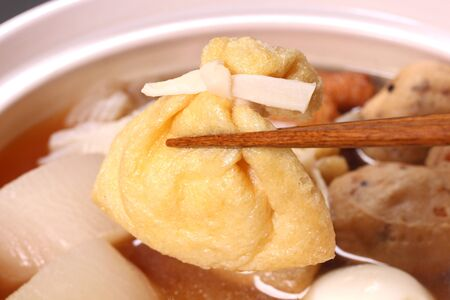Oden (Japanese cuisine) Close up