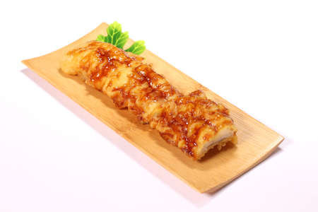 Conger eel Tempura, Japanese food Imagens