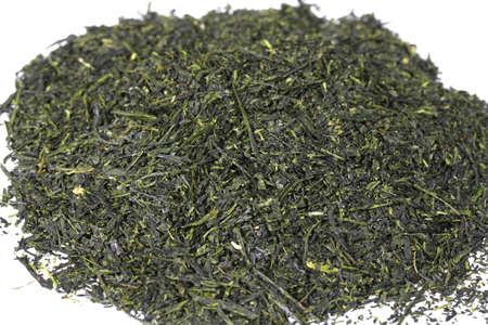 Heap of japanese green tea sencha