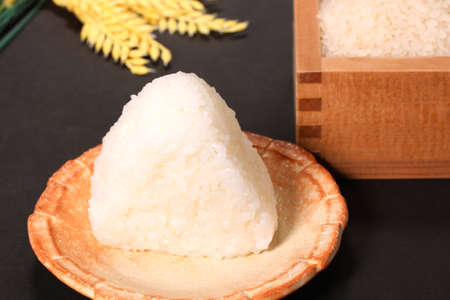 Onigiri, Japanese rice ball and Japnese rice