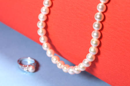 Pearl Necklace and Pearl ring
