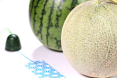 watermelon, muskmelon and Wind chime