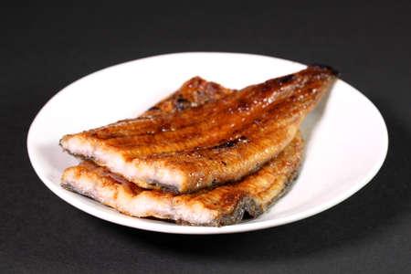 Kabayaki, japanese food, roasted eel with sauce
