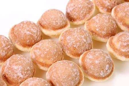 Suzu castella,small castella sponge cake with sugar Banco de Imagens